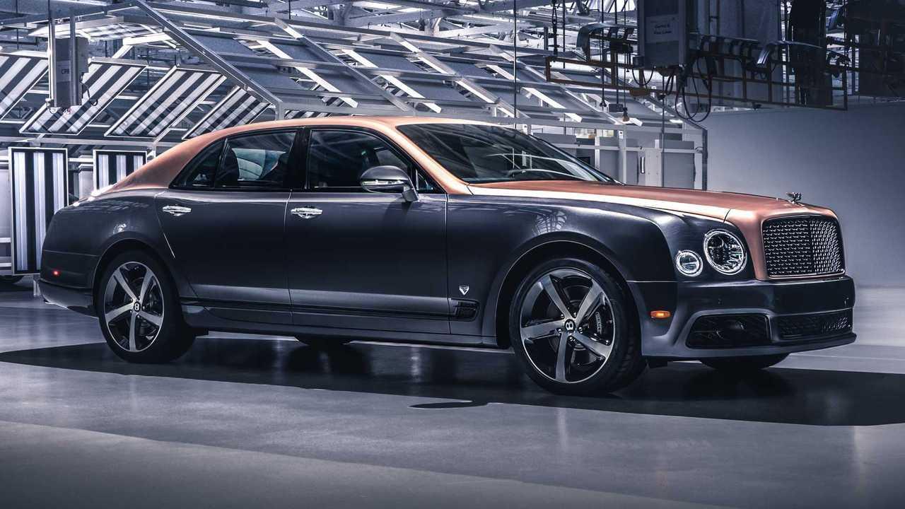 Final Bentley Mulsanne Speed 6.75 Edition by Mulliner