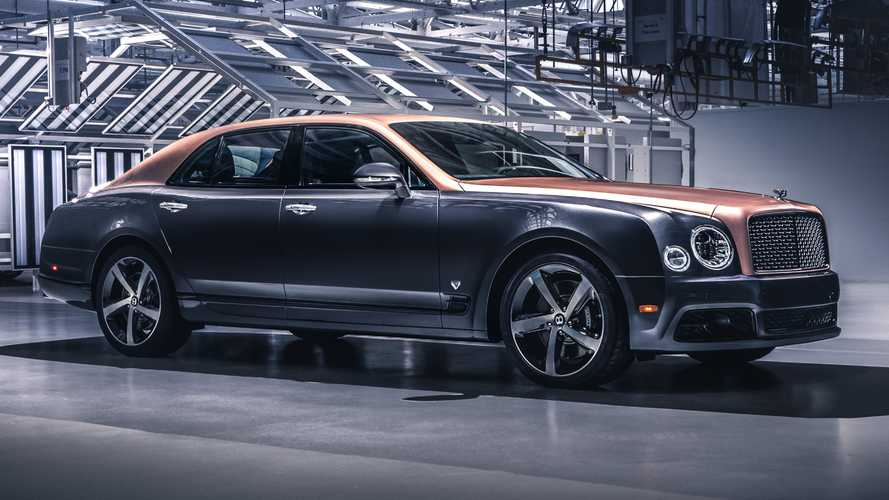 Final Bentley Mulsanne assembled, Flying Spur becomes flagship