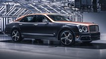 Final Bentley Mulsanne Speed 6.75 Edition by Mulliner