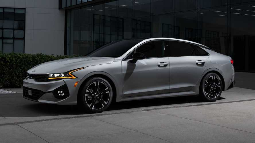 2021 Kia K5 Fuel Economy: Up To 32 MPG Combined, 29 With AWD