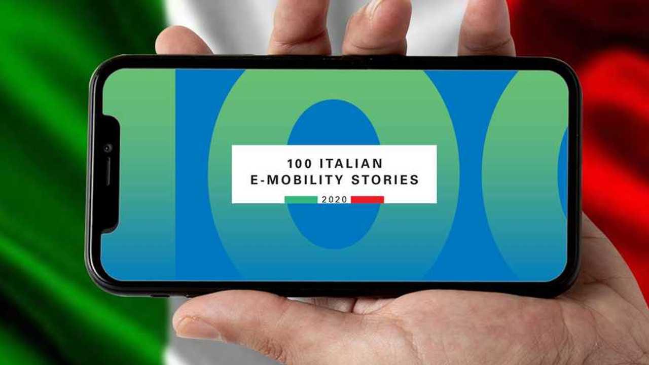 Copertina 100 Italian e-mobility