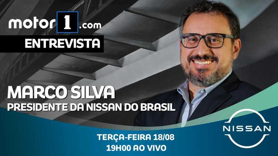 Marco Silva, Presidente da Nissan do Brasil, fala ao vivo nesta terça às 19h