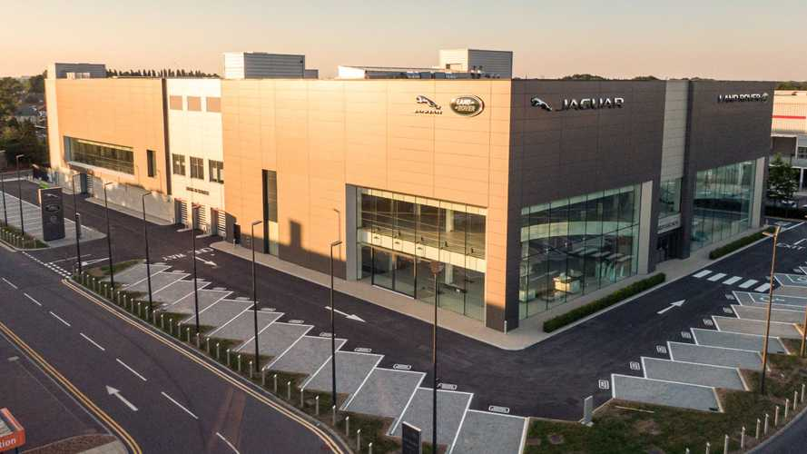 Jaguar Land Rover opens massive new dealership in West London