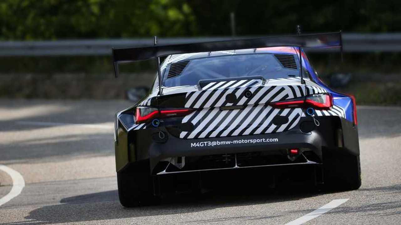 2022 BMW M4 GT3 rear