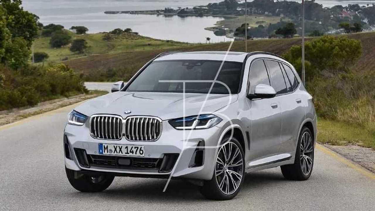 BMW X1 (2021) als Rendering