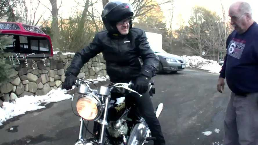 Sons Stole Their Dad's 1969 Norton Commando For All The Right Reasons