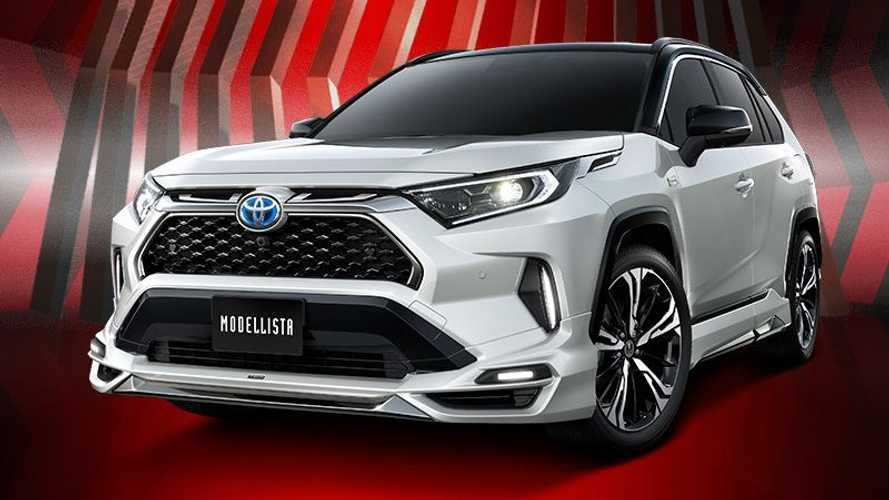 Toyota RAV4 Prime Gets Wicked-Looking Upgrades From Modellista