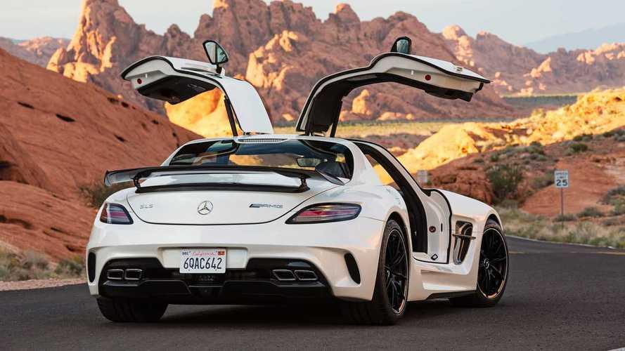En 2020, Mercedes vendió dos unidades nuevas del deportivo SLS AMG