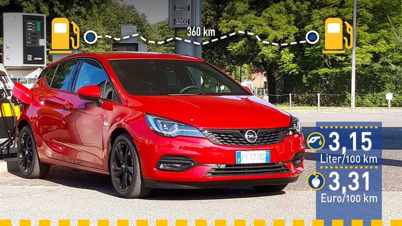 Opel Astra Diesel (2020) im Verbrauchstest