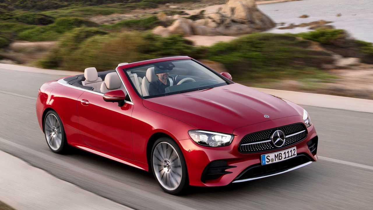 Обновленный кабриолет Mercedes-Benz E-класса (2020)