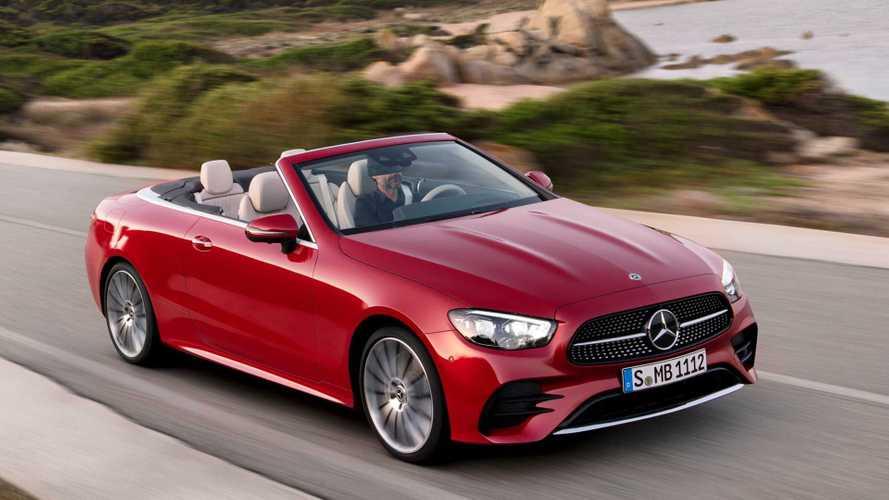 Двухдверные Mercedes-Benz E-класса официально обновились (AMG тоже)