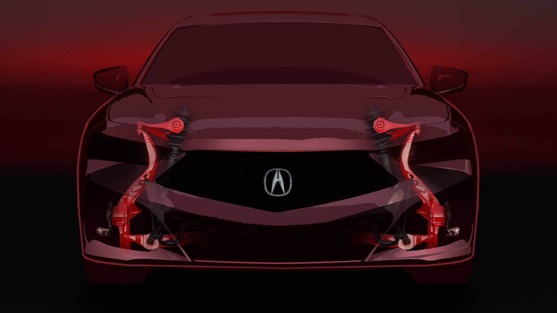 2021 acura tlx teases new suspension promises sharper