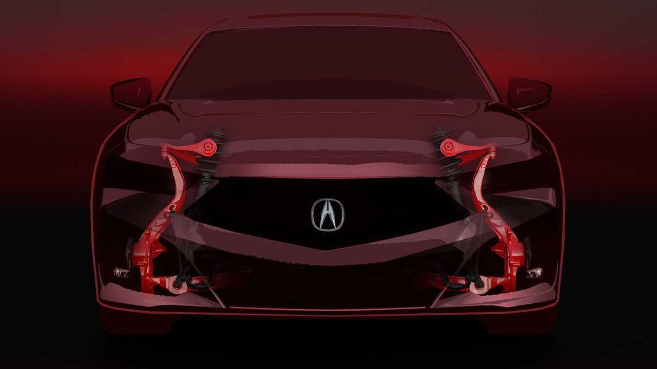 Новая Acura TLX - тизеры