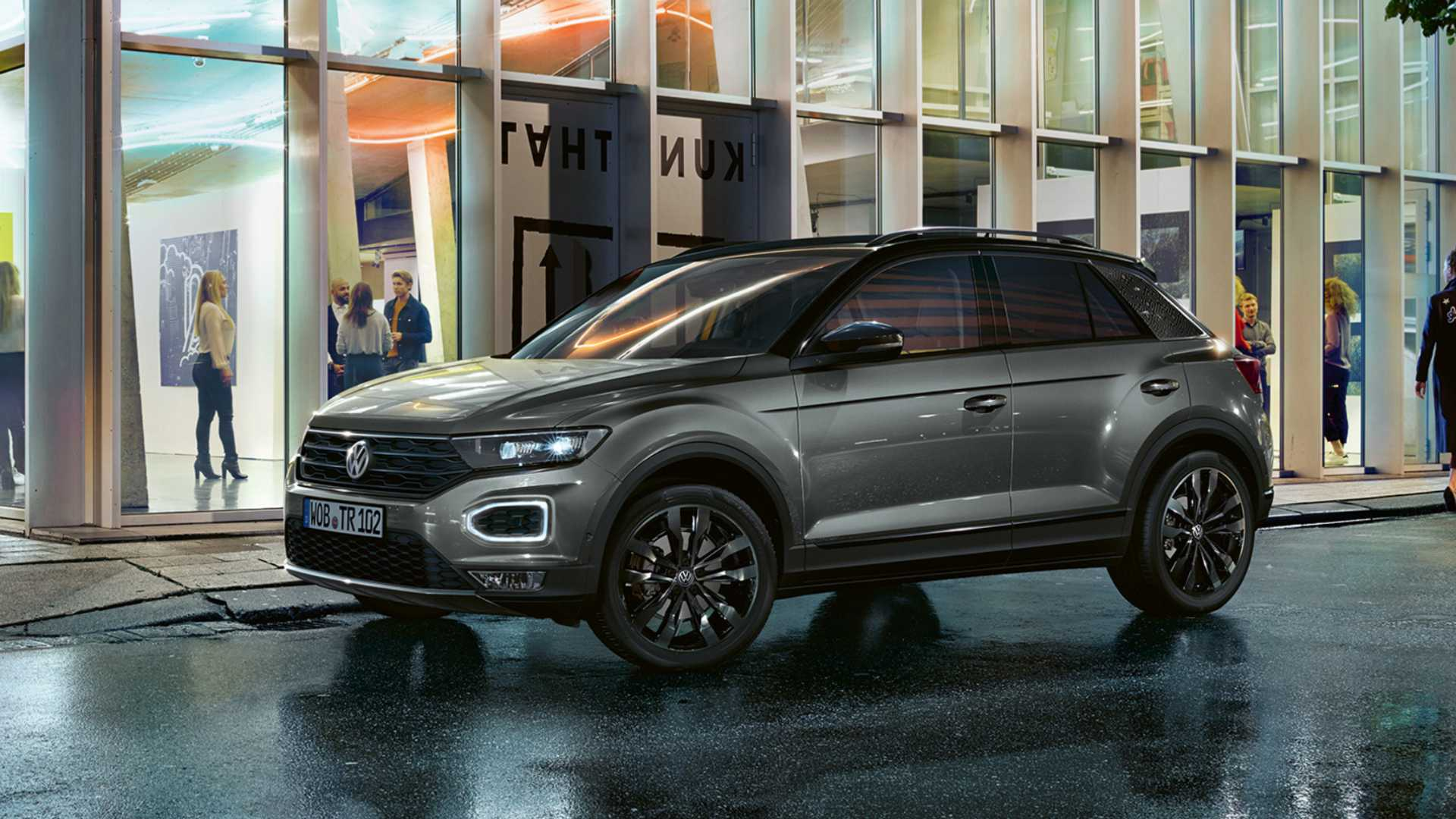 New Volkswagen T Roc Black Edition Comes In At 23 750