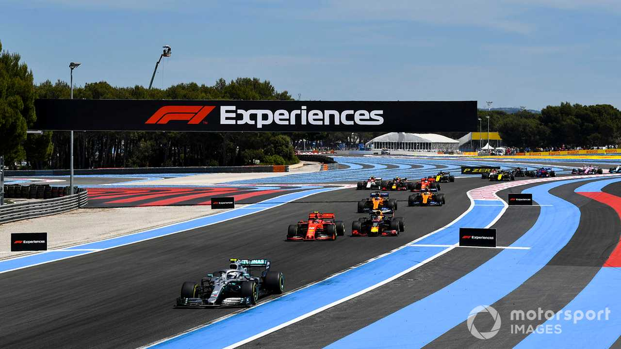 French GP 2019 start of race