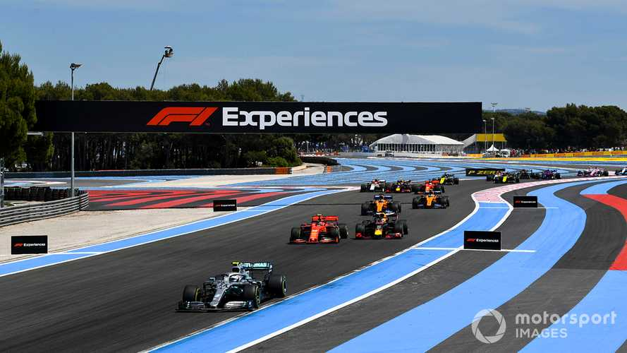 French GP announces cancellation of 2020 F1 race