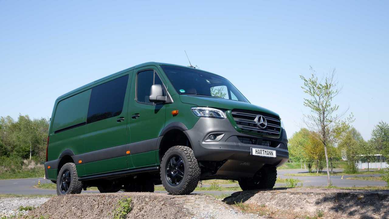 Vansports De Mercedes Benz Sprinter 4x4 4915938