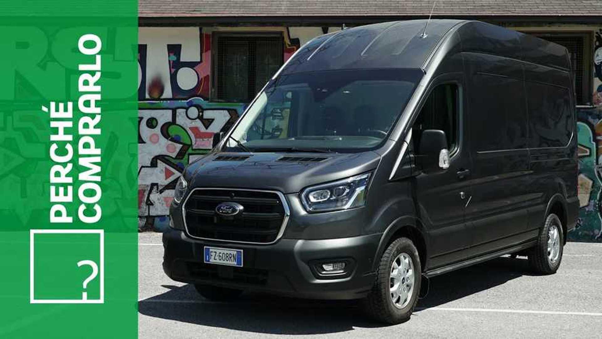 Ford Transit Van MHEV, perché comprarlo... e perché no