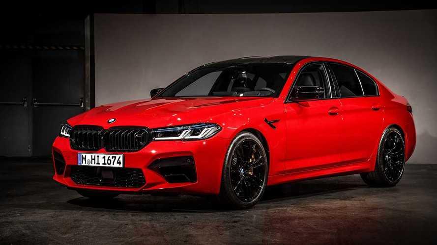 Megújult a BMW M5: Néhány plusz lóerő, új színek, új utastér