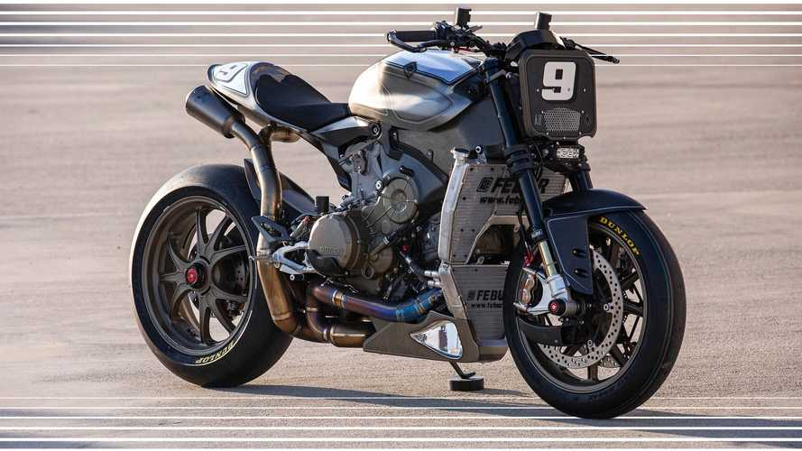 The Super: la Ducati 1199 Superleggera si spoglia per Roland Sands