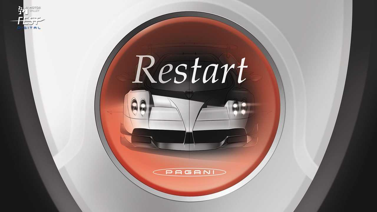 Motor Valley Fest Digital, 6 visual a tema Engine Restart