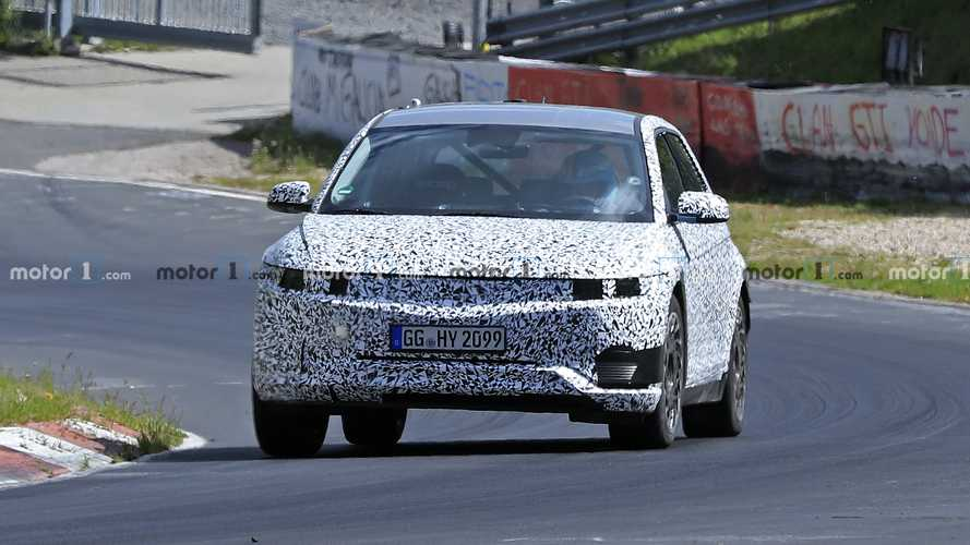 Hyundai 45 Spy Shots