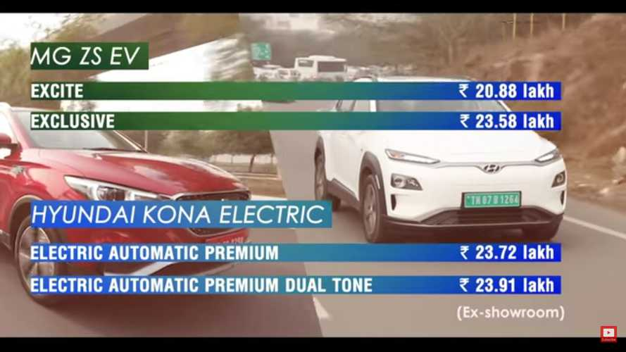 Hyundai Kona Electric Vs MG ZS EV: Do You Agree With The Result?