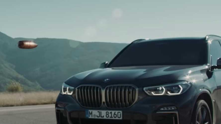 BMW X5 Protection doesn't mind taking a bullet in new ad
