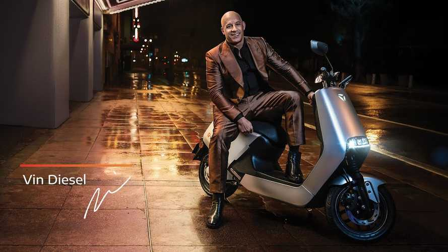 Watch Vin Diesel Make An Electric Scooter Look Tough
