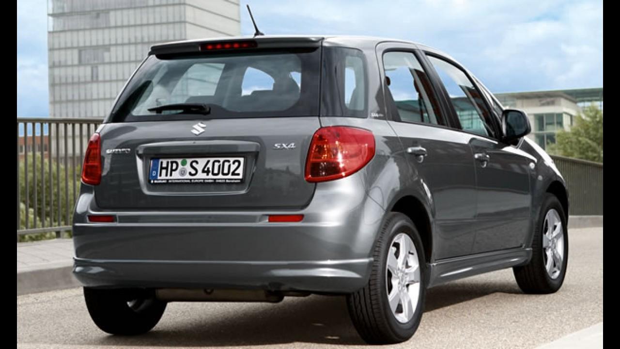 Suzuki lança oficialmente o SX4 no Brasil - Vendas começam em setembro por R$ 61.990
