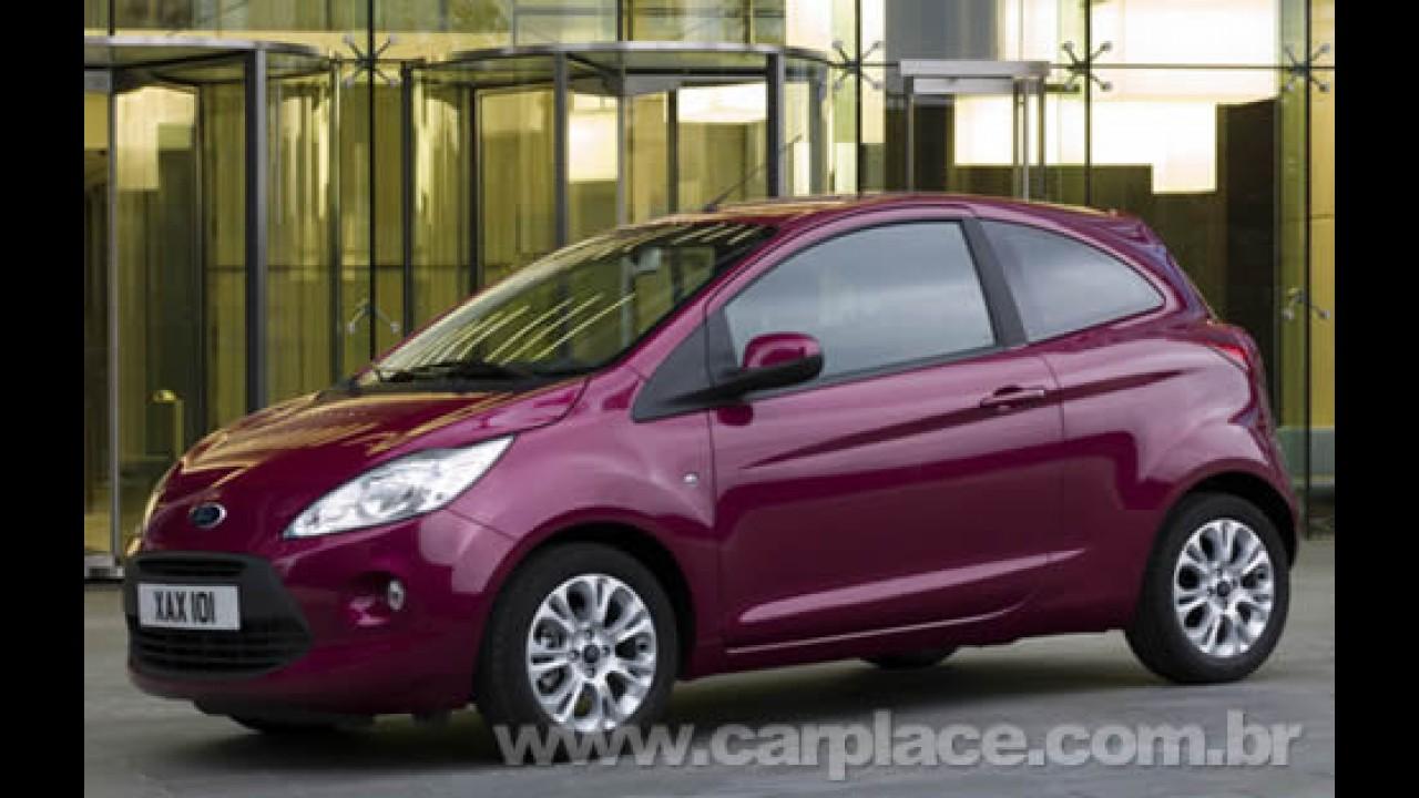 Novo Ford Ka Europeu E Apresentado Ao Publico E Ganha Tres Versoes