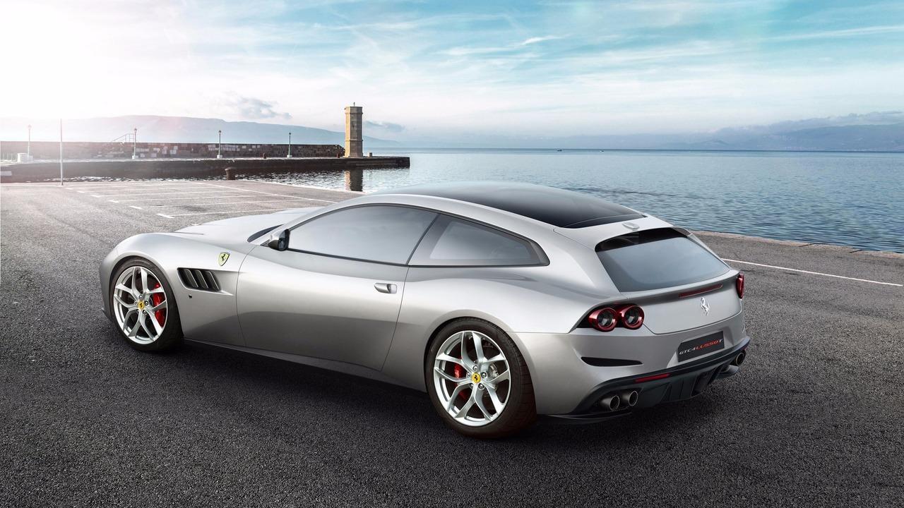 Ferrari GTC4Lusso T at 2016 Paris Motor Show