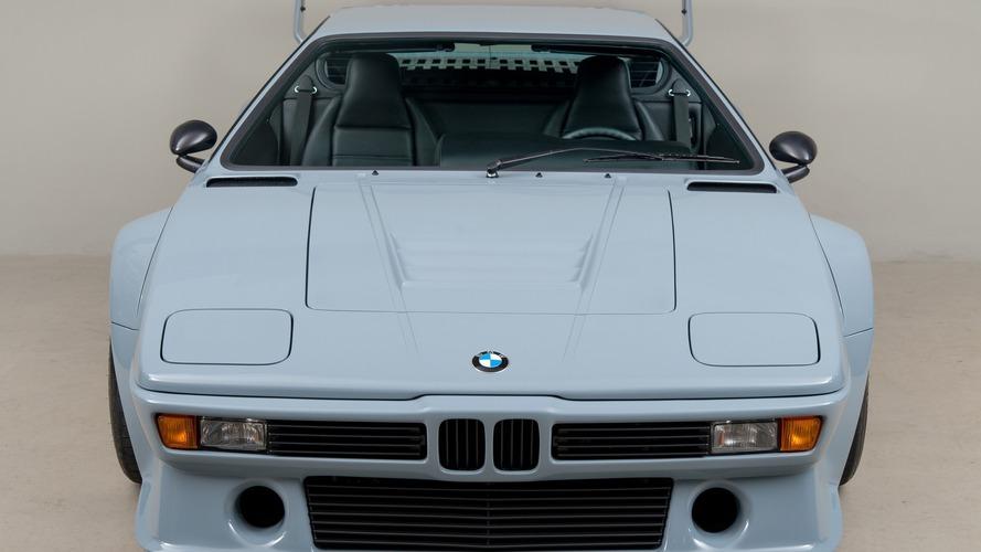 Yola çıkması yasal tek BMW M1 Procar da Pebble Beach'te