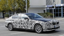 2017 BMW 5 Series Sedan spy photo