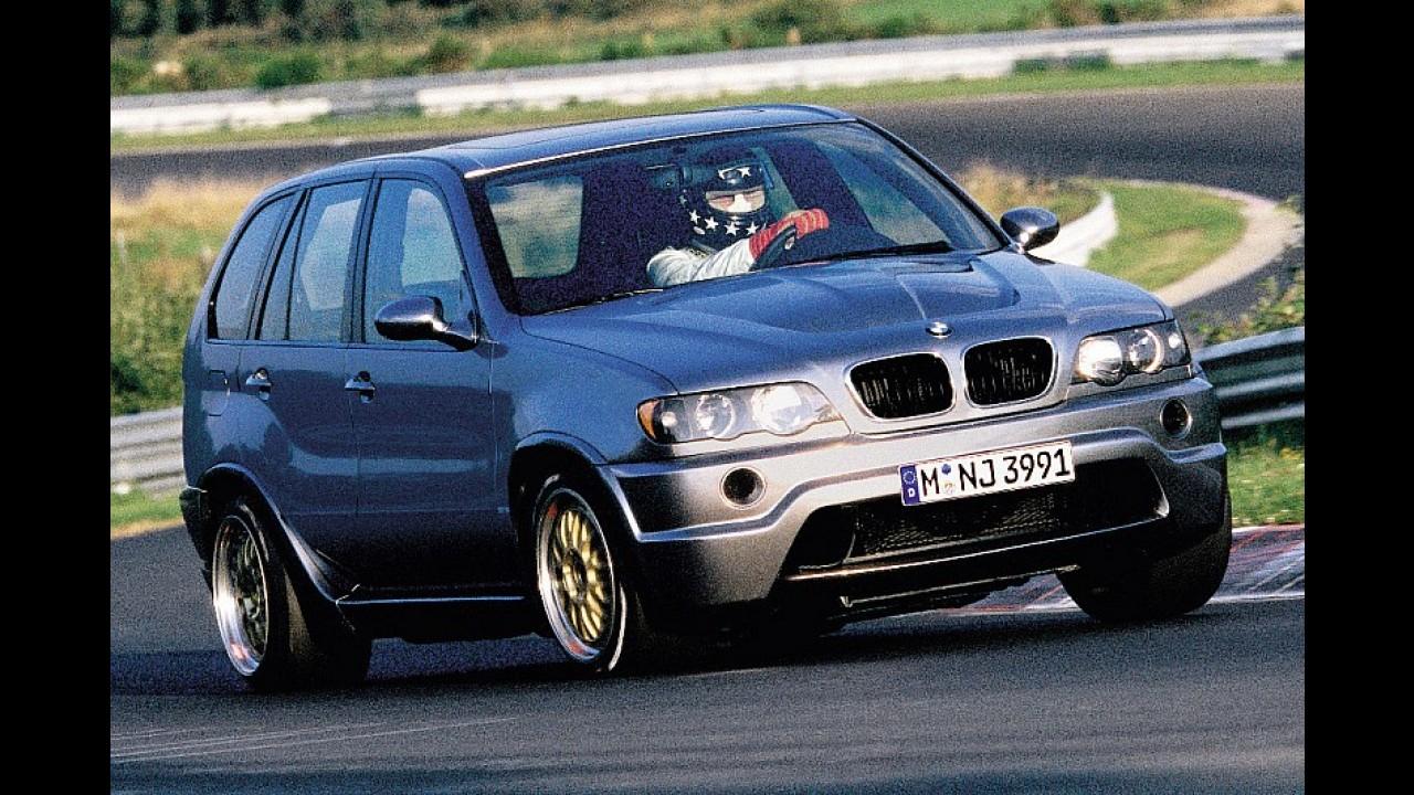 V12 motorlu BMW X5 Le Mans, hız festivalinde boy gösterecek