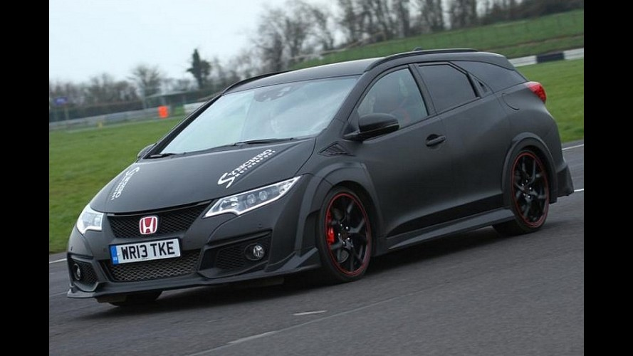 Synchro Motorsport'un Honda Civic Tourer Type R'ı ile tanışın