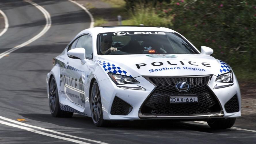 Lexus RC F, Avustralya'da polis aracı oldu