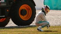 Lewis Hamilton at the Malaysian Grand Prix 2016