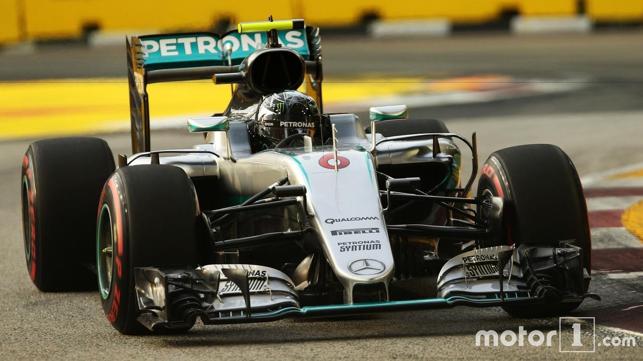 Singapour Nico Rosberg 2016