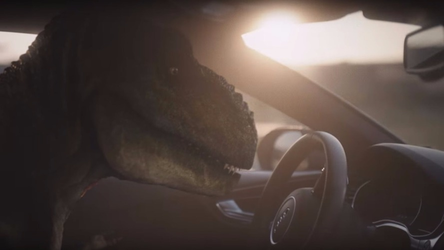 Depressed T-Rex tells how Audi piloted driving changed his life