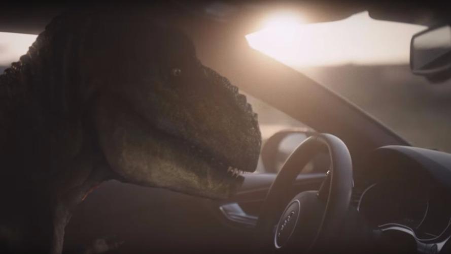Depresyona giren T-Rex, Audi pilot sürüşünün hayatını nasıl değiştirdiğini anlatıyor