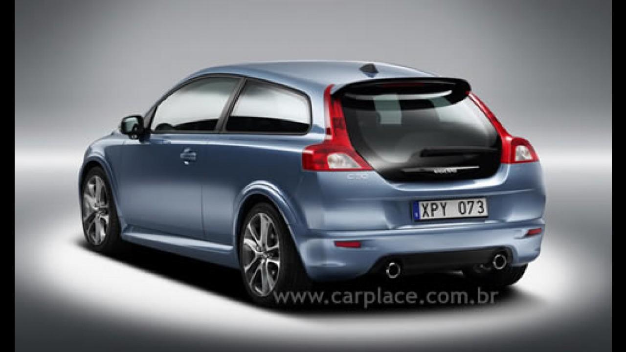 Linha 2008 do Volvo C30 chega ao mercado com novidades