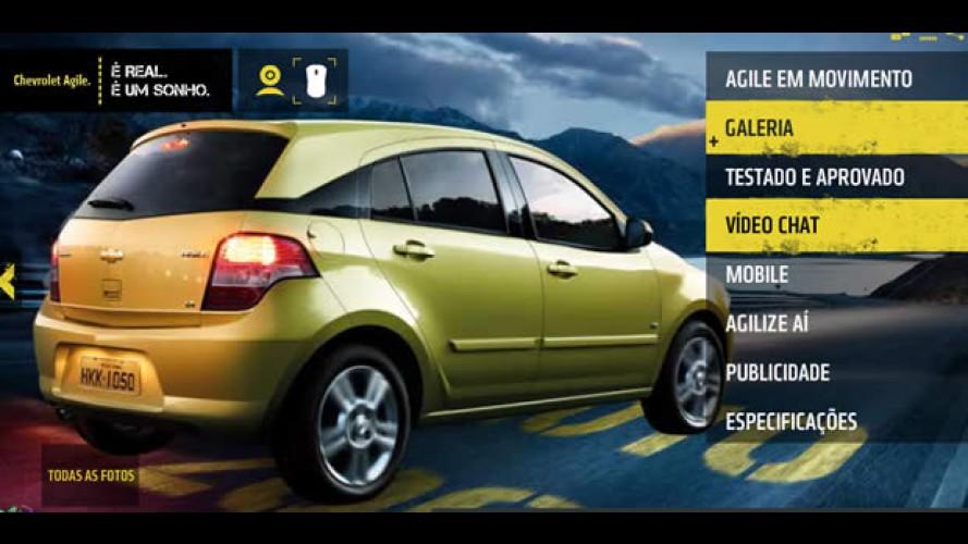 Vídeo Chat - Diretor de Design da Chevrolet responde perguntas sobre o visual do Agile