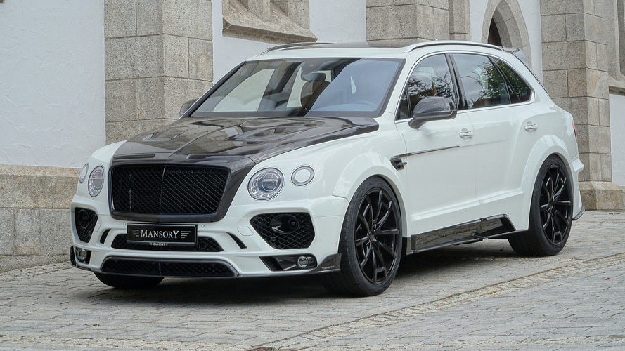 Mansory Bentley Bentayga revealed ahead of SEMA debut
