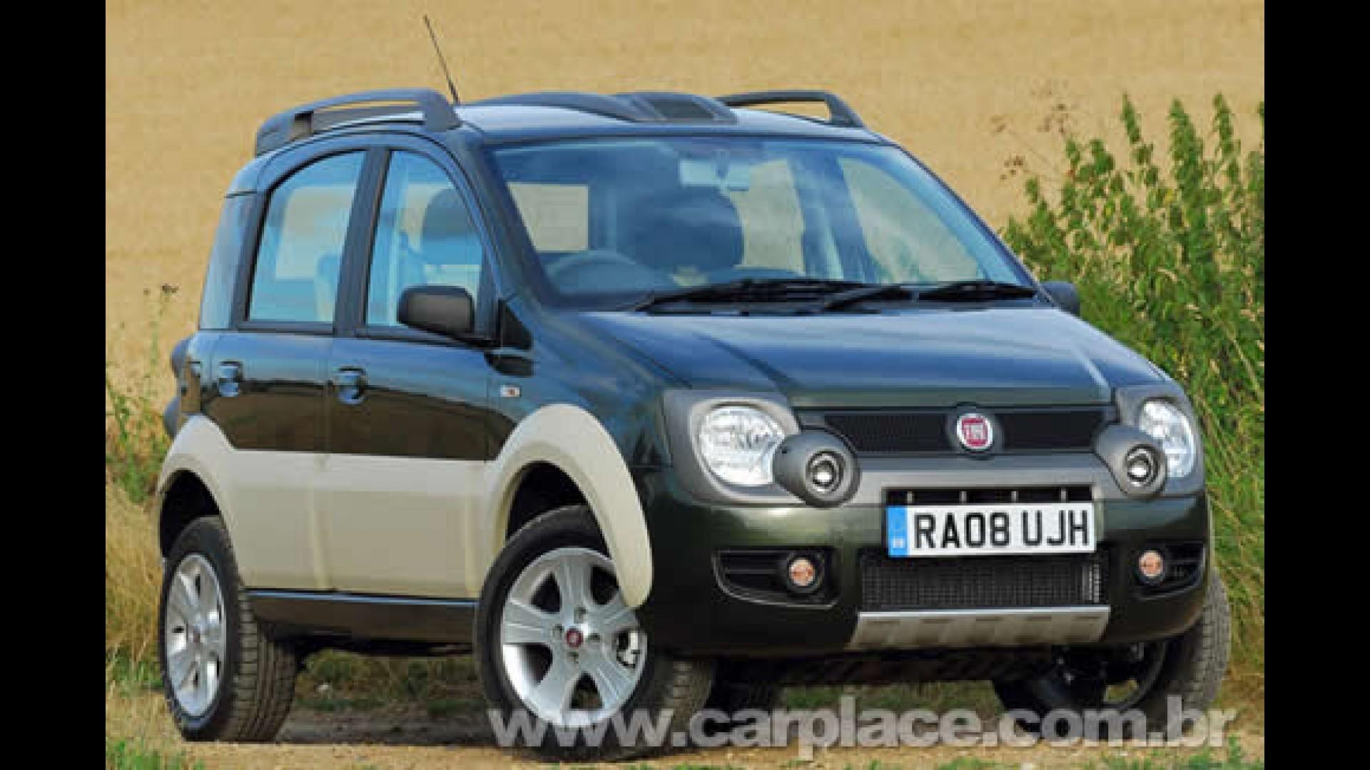 Fiat Panda Cross Versao Adventure Com Tracao 4x4 E Lancada No Reino Unido