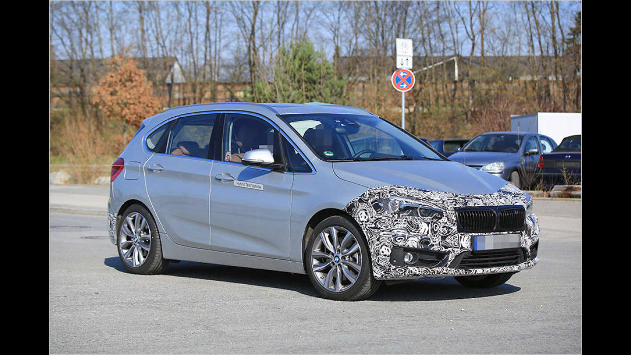 BMW 2er Active Tourer Facelift