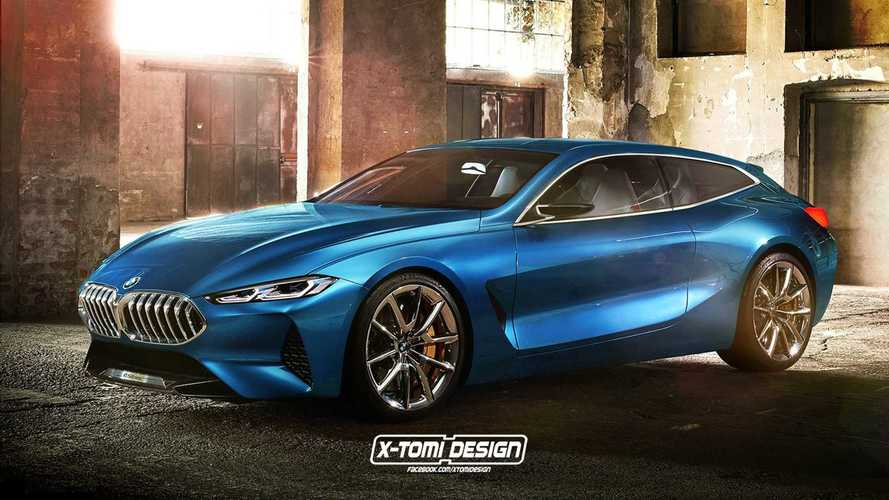 BMW 8 Serisi'ne Gran Coupe, shooting brake ve pickup yorumu