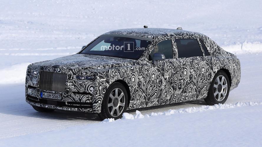 2018 Rolls-Royce Phantom Extended Wheelbase görüntülendi