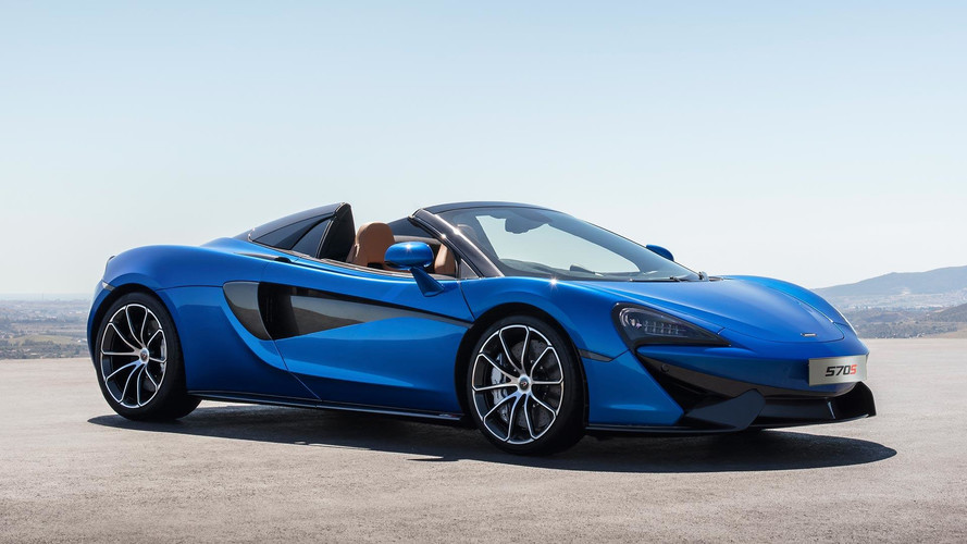 McLaren 570S Spider Drops Its Top With No Loss Of Performance