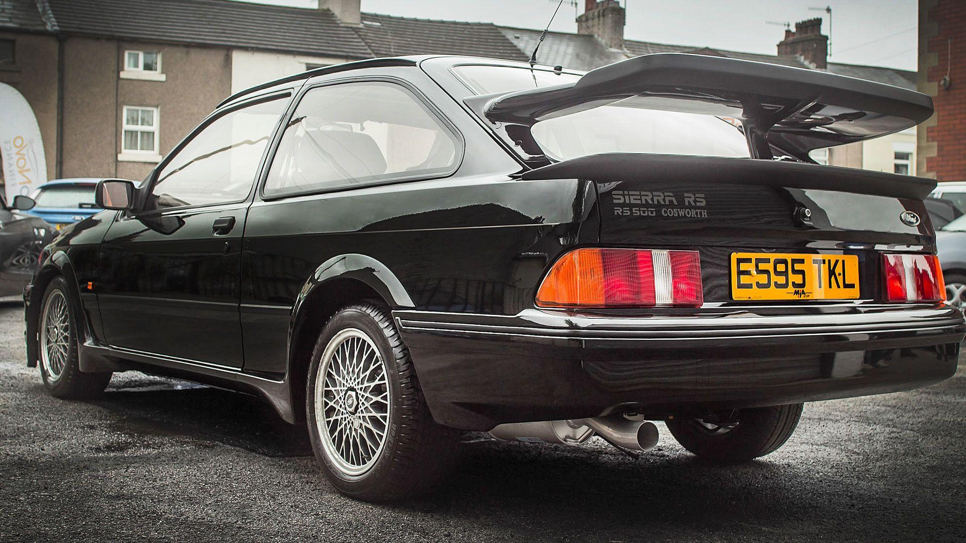 Low mileage ford sierra cosworth rs500 sold for 150000